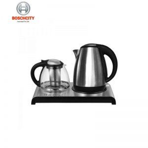 چای ساز و قهوه جوش اینوکس مدلNX12F