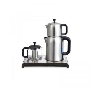 NX12T چای ساز و قهوه جوش اینوکس مدل