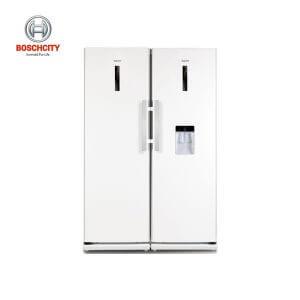 یخچال فریزر دو قلو ماژیک شف مدل MCSRY-60180 و MCSFY-60180