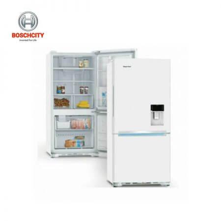 یخچال پایین فریزر مجیک شف سفید مدل MCCRY-80180